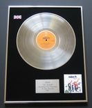 ABBA - The Album PLATINUM LP presentation Disc